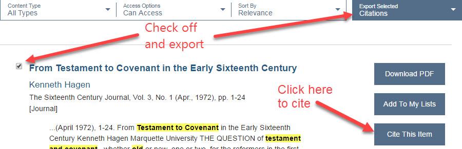 JSTOR Citation